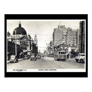 Old Postcard - Melbourne, Australia
