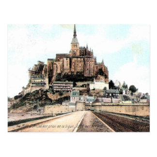 Old Postcard - Mont-St-Michel, Manche, Normandie