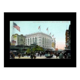 Old Postcard, New York City, Macy's Postcard