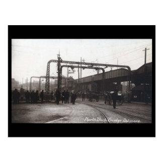Old Postcard - North Dock Bridge, Swansea