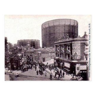Old Postcard - Old Kent Rd, London