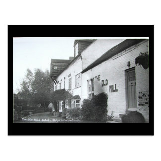 Old Postcard, Old Mill Hotel, Shipston-on-Stour, W Postcard