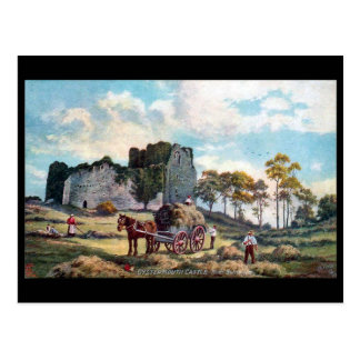 Old Postcard - Oystermouth Castle, near Swansea