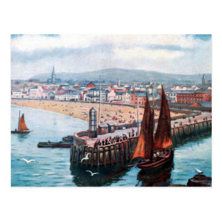 Old Postcard - Peel, Isle of Man