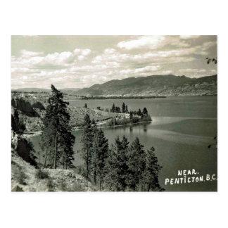 Old Postcard - Penticton, British Columbia, Canada
