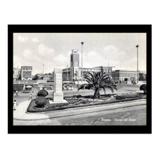 Old Postcard - Pescara, Piazza del Ponte