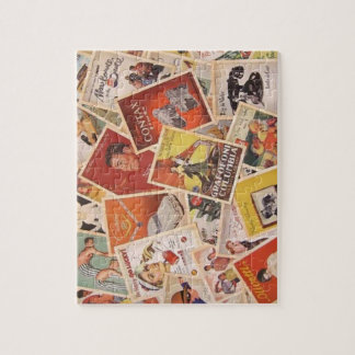 Old Postcard Pile Jigsaw Jigsaw Puzzles