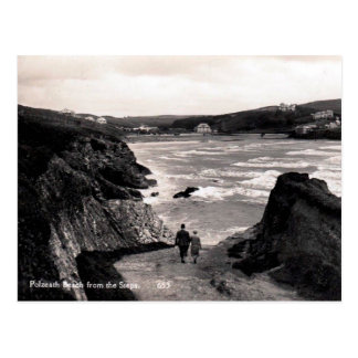Old Postcard - Polzeath, Cornwall