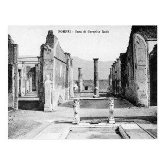 Old Postcard - Pompei, Casa di Cornelio Rufo