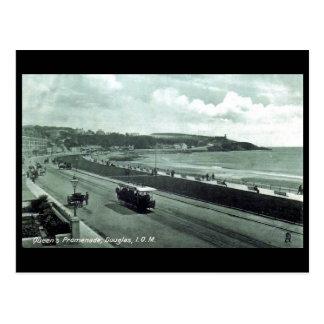 Old Postcard - Queen's Promenade, Douglas, IOM