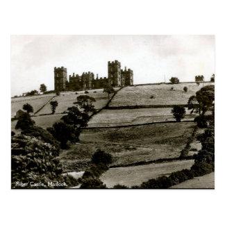 Old Postcard - Riber Castle, Matlock, Derbyshire