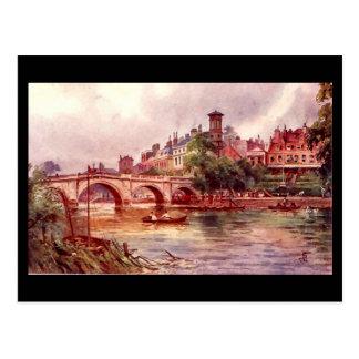 Old Postcard - Richmond Bridge