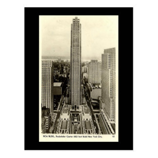 Old Postcard, Rockefeller Center, New York City Post Cards