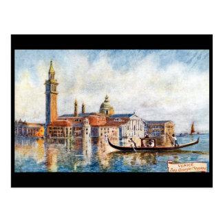 Old Postcard - San Giorgio Maggiore, Venice