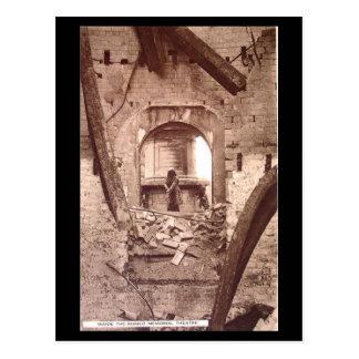 Old Postcard - Stratford-upon-Avon, Ruins of Shake