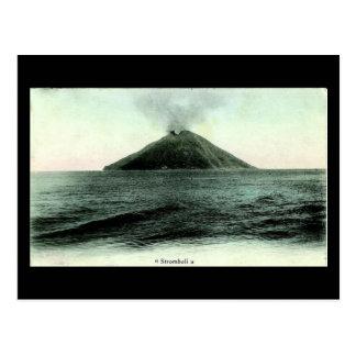 Old Postcard Stromboli