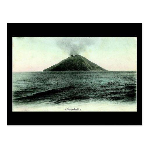 Old Postcard, Stromboli