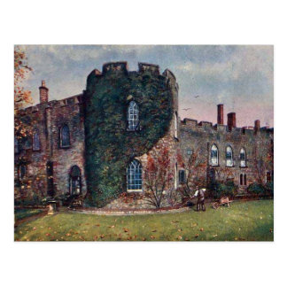 Old Postcard - Taunton Castle, Somerset