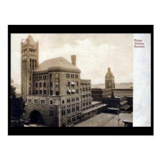 Old Postcard - Toronto, Union Station