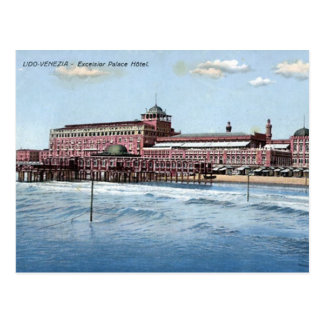 Old Postcard - Venice Lido, Italy