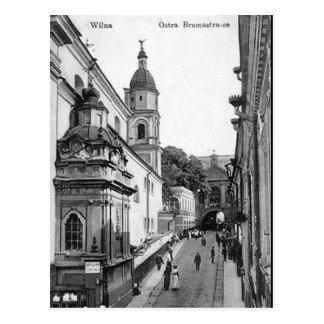 Old Postcard - Vilnius, Lithuania