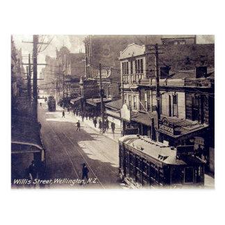 Old Postcard - Wellington, New Zealand
