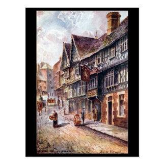Old Postcard - Wyle Cop, Shrewsbury, Shropshire