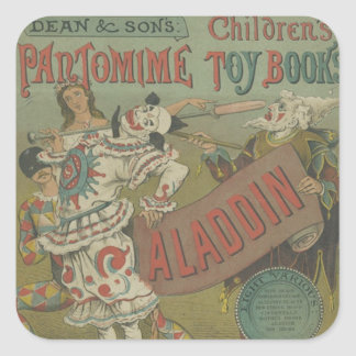 OLD POSTER OF CIRCUS STICKER