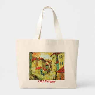 Old Prague Tote Bags