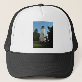 Old Presque Isle Lighthouse Trucker Hat