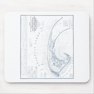 Old Provincetown Cape Cod Map Mouse Pad