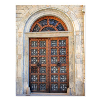 Old Quarter Barcelona Door  -  Postcard