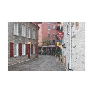 Old Quebec - Color Canvas Print