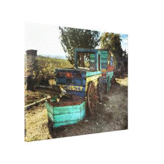 Old Rail Canvas