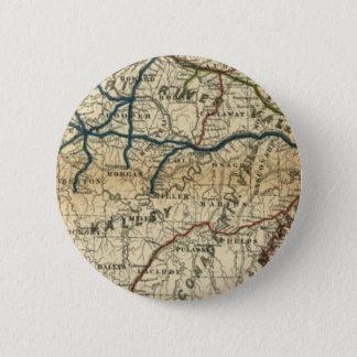 Old Railway Map 6 Cm Round Badge