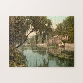 Old Reach, Thorpe, Norwich, Norfolk, England Jigsaw Puzzle