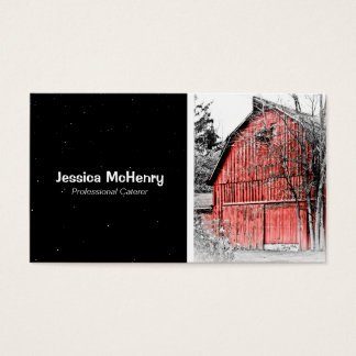 Old Red Barn Business Card