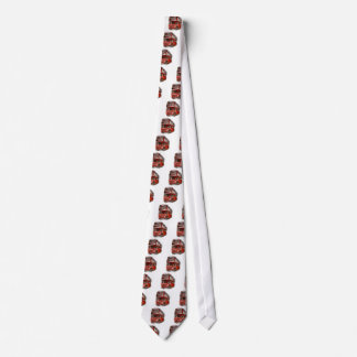 Old Red London Bus Tie
