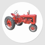 old red tractor stickers