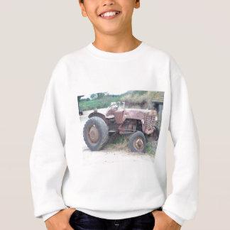 Old red tractor sweatshirt
