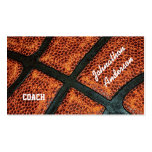 Old Retro Basketball Autographed Coach