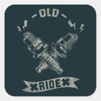 Old ride sticker