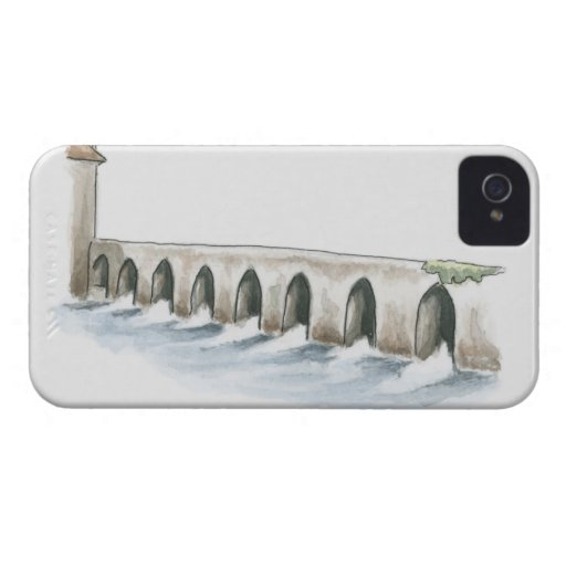 Old Roman Bridge iPhone 4 Case