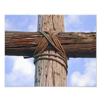 Old Rugged Cross Close Photo Print