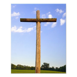 Old Rugged Cross Photo Print