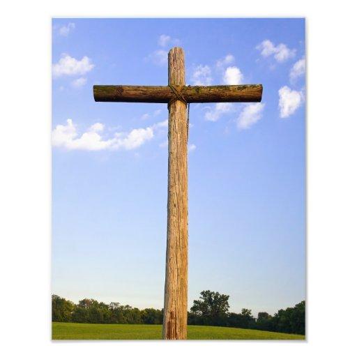 Old Rugged Cross Photo Print