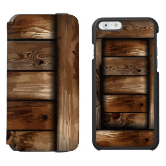 Old Ruin Wreck Wooden Box Incipio Watson™ iPhone 6 Wallet Case