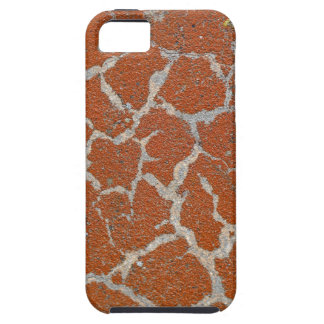 Old russet color on concrete iPhone 5 case