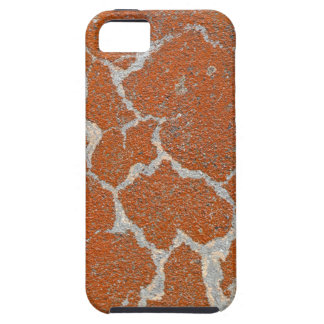 Old russet color on concrete iPhone 5 cover