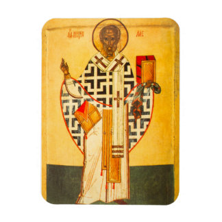 Old Russian icon of St.Nicholas Magnet